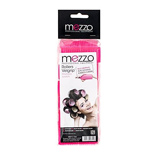 Mezzo - Rouleaux velcro rose petit modèle 24mm x12