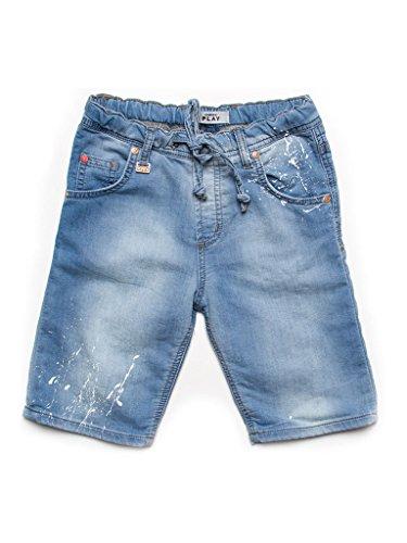 Carrera Jeans - Bermuda per Bambino, Tessuto Elasticizzato IT 134