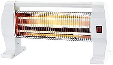 Estufa Cuarzo 1200W 3 Tubos y 3 Niveles de Temperatura. Sistema de protección en Caso de vuelco Accidental de la Estufa. Asa de Transporte
