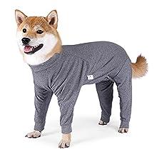 Z-Y Perro Ropa 4 patas grandes pijamas elasticidad mascota mono de mascota invierno ropa de perro cálido para perros medianos perros labrador disfraz de labrador abrigo Doberman