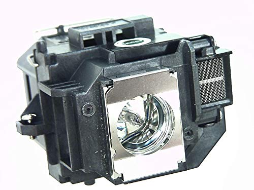 Compatible ELPLP58 / V13H010L58 Replacement Lamp with Housing for Epson projector EBS10 EBS9 EBS92 EBW10 EBW9 EBX10 EBX9 EBX92 EX3200 EX5200 EX7200 PowerLite1220 PowerLite1260 PowerLiteS9 VS200