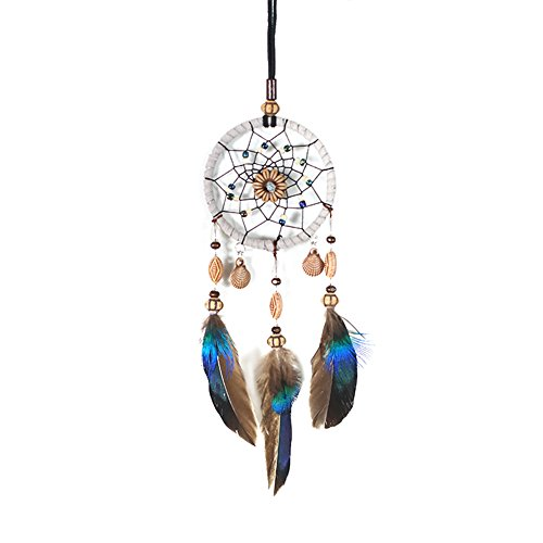 Demiawaking Dream Catcher Car Home Decor Feder handgefertigte American Indian Traumfänger