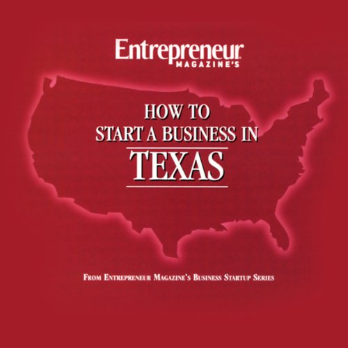 How to Start a Business in Texas audiobook cover art