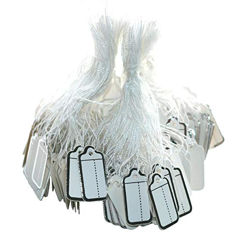 NAHANCO 5NS Unstrung-1-1//8 x 1-13//16 Unstrung All Purpose Merchandise Tags-White 1000//Carton Pack of 1000 National Hanger Company