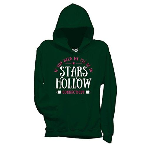 MUSH Sweatshirt I Will Be In Stars Hollow - Gilmore Gilrs - Film by Dress Your Style - Damen-M-Grün