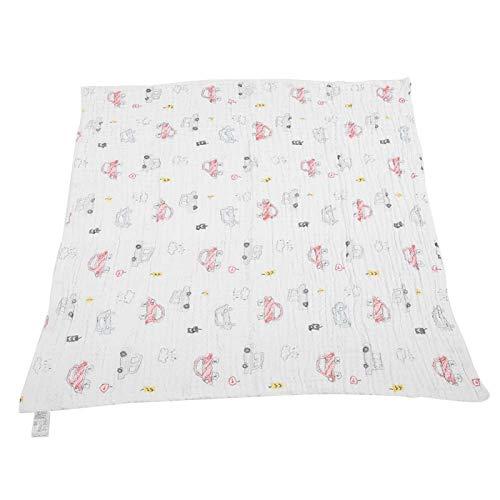 Toalla de baño para bebés, manta de baño multifuncional suave de dibujos animados para bebés, para la ducha infantil de absorción de agua para bebés(Gorgeous beetle, 105 * 105)