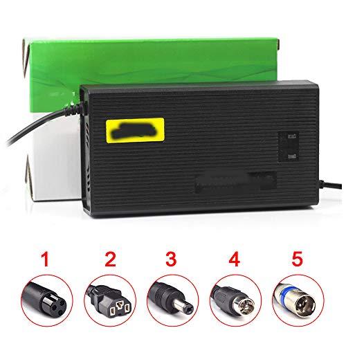 SUIBIAN Elektro-Scooter-Ladegerät, 72V 30AH Blei-Säure-Batterie Hochleistungsimpulsadapter, Intelligent Power-Off-Schutz, Hocheffiziente Energiespar Schnell-Laden,2