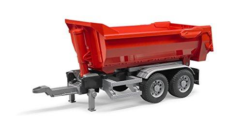 bruder 03923 LKW Halfpipe-Anhänger, bunt