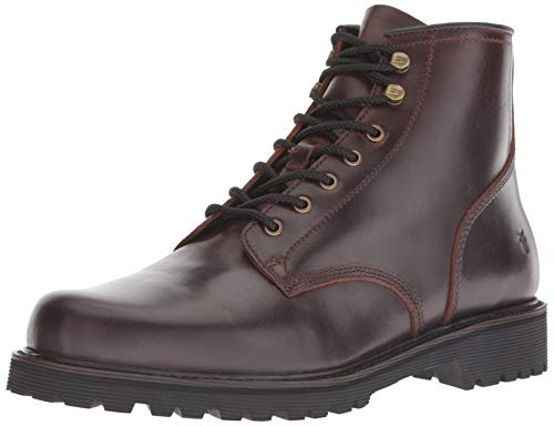 FRYE Men's Dawson Lug Workboot Fashion Boot, redwood, 11 M M US