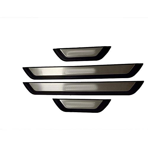 Yxsd Para Mazda CX-5 CX 5 CX5 KF 2017 2018 2019 2020 umbral de la puerta Scuff Plate Guard bienvenida pedal proteger etiqueta engomada car styling Accesorios