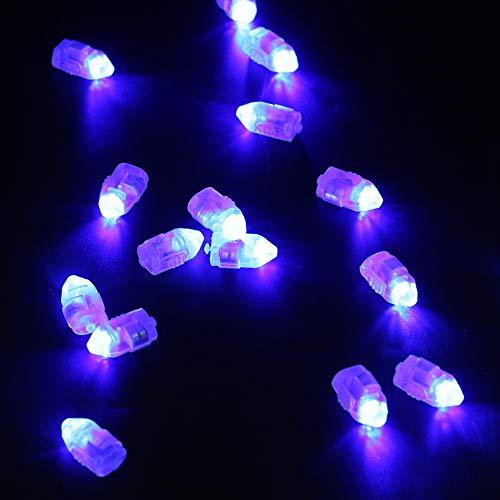 Ruining Luces LED, Luces Decorativas para Fiestas, Luces para Exteriores, Luces para Patio, Luces para Habitaciones, decoración para(Blue Light)
