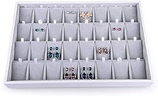 Woodten Velvet Jewelry Tray Earring Organizer Tray Jewelry Tray Watch Pallet Ring Necklace Jewelry Storage Display Box Sta...