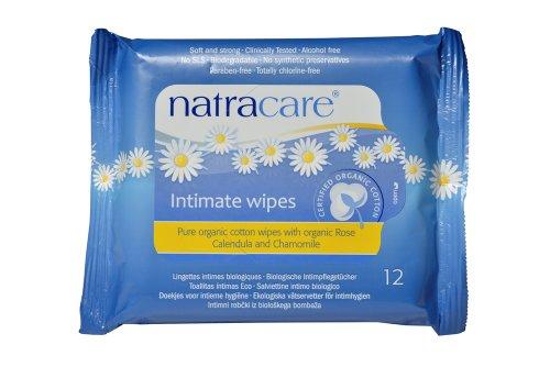Natracare Intim-Tücher, Bio-Baumwolle, 12 Tücher