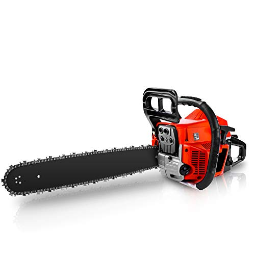 CHAKOR 58CC Chainsaw, 20' Gas Chainsaw, 2 Strokes...