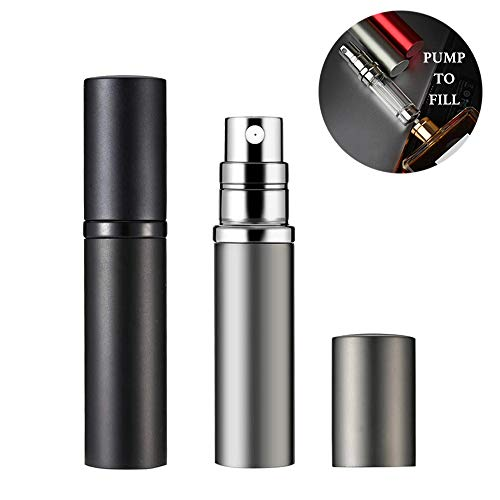 Refillable Perfume Atomizer 5ml Perfume Bottle, Mini Travel Atomizer...