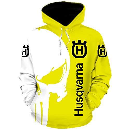 Gyulyaydin Hoodies,Chaquetas,Camiseta Hus_Qv-Ar_Na Punisher 3D Completo Impresión Delgado Hombre Y Mujer Casual Poliéster Sweatshirt Al Aire Libre / A1 / XXXXL