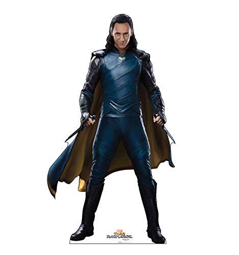 Advanced Graphics Loki Life Size Cardboard Cutout Standup - Thor: Ragnarok (2017 Film)