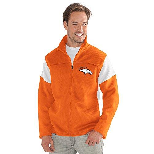 G-III Men's Halftime Full Zip Jacket, Orange, Large