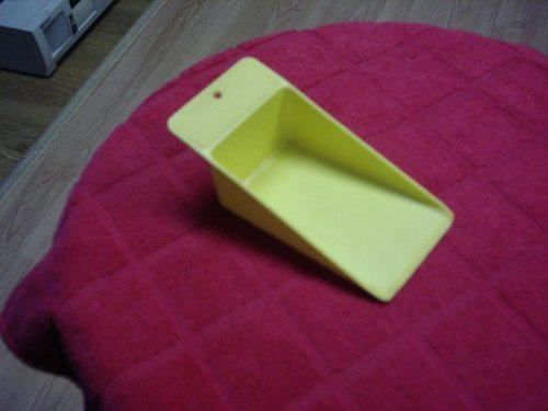 Tupperware Flat Scoop Yellow