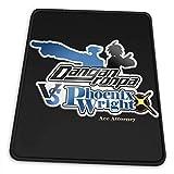 Mouse Mat,Danganronpa Vs. Phoenix Wright Ace Attorney Desk Pad,Soft Durable Non-Slip Mousepads For Computer Decoration,18x22cm