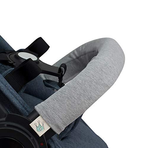 JANABEBE Housse pour Barre de Protection Poussettes (GREY STONE, Unipersonnel)
