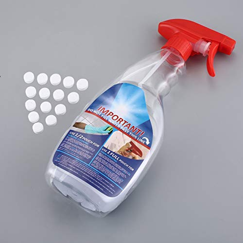 5PCS Multifunctional Effervescent Spray Cleaner Set Home Cleaning Concentrate