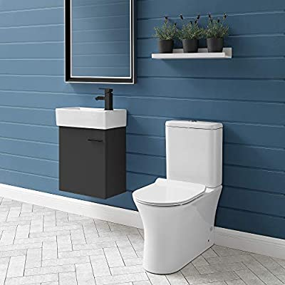 Swiss Madison SM-2T120 Calice Two Piece Elongated Rear Outlet Toilet, Dual Flush