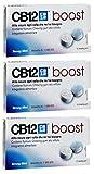 CB12 Boost Sugar Free Gum - Strong Mint (3) by CB12