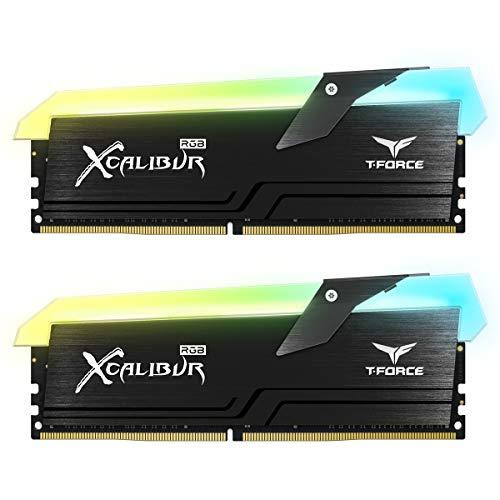 Arbeitsspeicher DDR4 RGB TeamGroup (XCALIBUR, 2 x 8 GB 4000 MHz Black)
