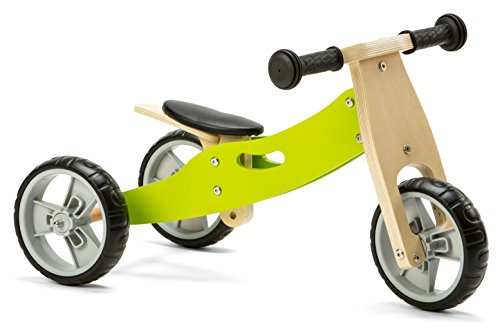 Nicko NIC803 Bicicleta de Equilibrio, Verde, Large, One Size