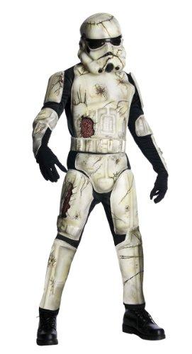 Halloween Star Wars Herren Kostüm Death Trooper Zombie Klonkrieger