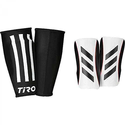 Adidas Caneleiras Tiro League White / Black / Black / Solar Red S - GK3534-0002-S