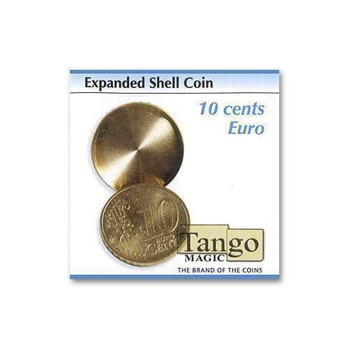SOLOMAGIA Expanded Shell Coin - 10 Cents Euro by Tango Magic - Magic with Coins - Trucos Magia y la Magia