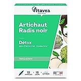 Vitavea - artichaut radis noir - complément alimentaire detox draineur et confort intestinal - 10...