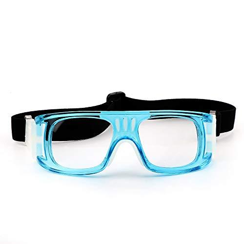 SunAll Baloncesto Entrenamiento vidrios de la motocicleta gafas de doble anti-vaho Espejo de protección de la gotita de gafas puede equiparse con miopía jugar a baloncesto Vidrios anti-cabeza hacia ab