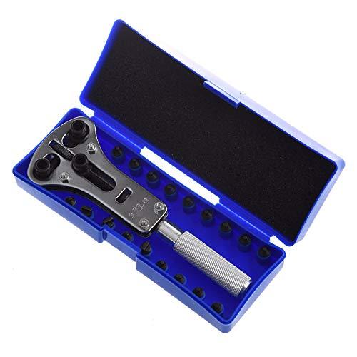 Hemore Uhrenreparatur-Werkzeug, großer XL-Schraubenschlüssel, wasserdicht, Schraubengehäuse