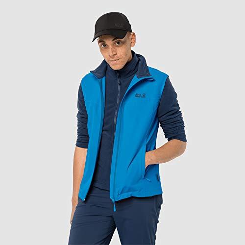 Jack Wolfskin Herren Activate Weste, brilliant blue, XXXL, 1304451