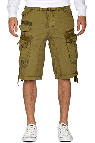 Geographical Norway Herren Shorts Men New BS2 Mastic M