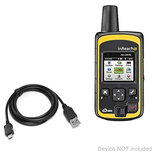 Delorme inReach SE Cable, BoxWave [DirectSync Cable] Durable Charge and Sync Cable for Delorme inReach SE, Explorer
