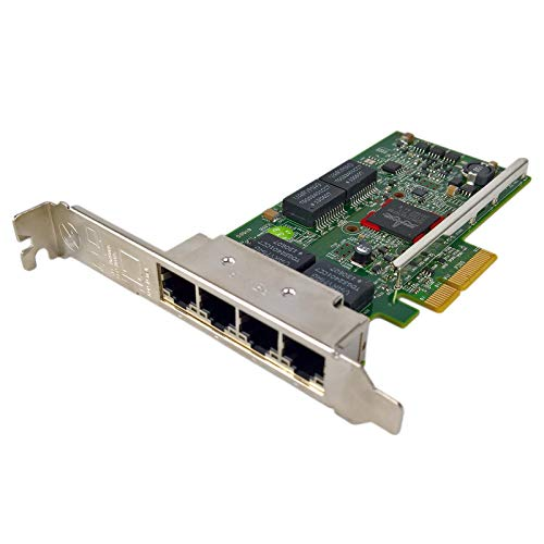 Dell 540-BBGX QLogic 5719 QP - Network adapter - Gigabit Ethernet x 4 - for PowerEdge R220 R230 R320 R530 R630 R730 R920 T130 T320 T330 T630 VRTX M520 - (Enterprise Computing  Network Accessories)