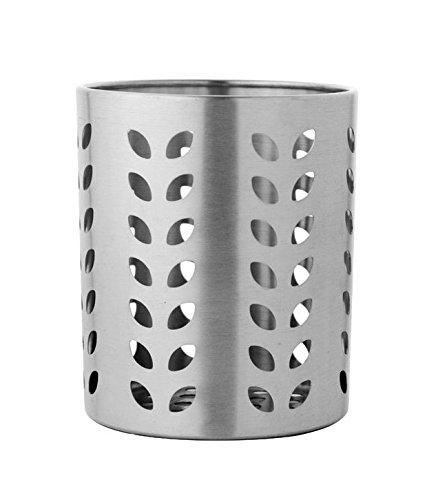 Dynore Stainless Steel Leaf Hole Cutlery Holder