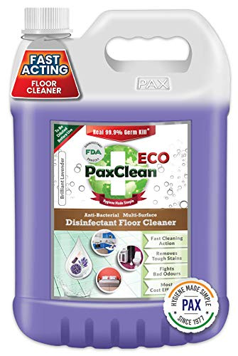 PaxClean ECO Multi Surface Disinfectant Floor Cleaner (Lavender), 5L