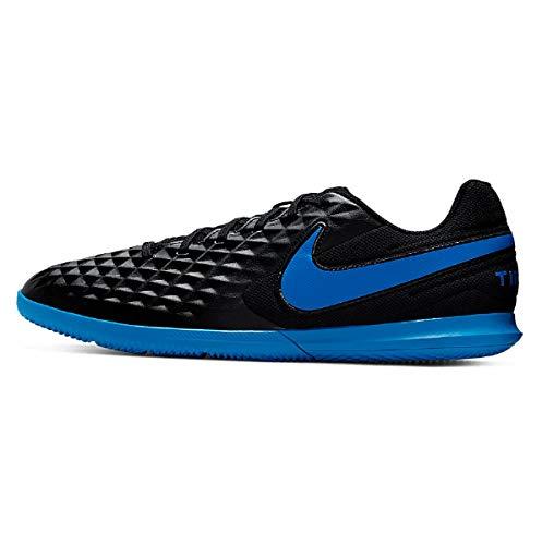 Nike Tiempo Legend 8 Club IC, Scarpe da Calcio Unisex-Adulto, Multicolore (Black/Blue Hero 4), 38.5 EU