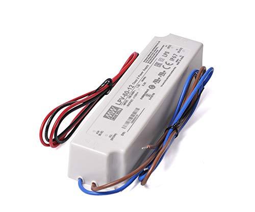 Kingled - Netzteil serie MeanWell LPV-60-12 60W 12V 5 Ampere wasserdicht IP67