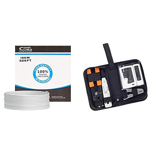 NANOCABLE 10.20.0502 - Cable de Red Ethernet rigido RJ45 Cat.6 UTP AWG24, 100% Cobre,...