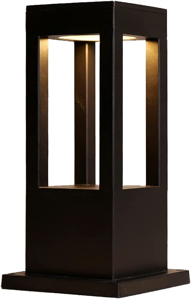 ZZYJYALG Modern Square Industrial San Jose Mall Lawn Outdoor Post Max 83% OFF D LED Light