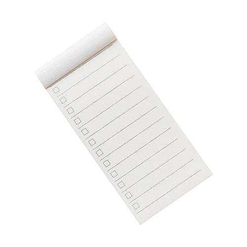 todo List ordinateur portable Journal Poche Mini bloc-notes mémo livre 70x 140mm–Lot de 10 TODO Page
