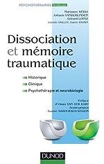 Dissociation et mémoire traumatique de Marianne Kedia