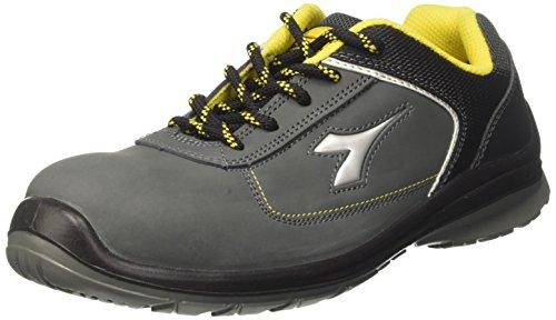Diadora - D-blitz Low S3, zapatos de trabajo Unisex adulto, Gris (Grigio Castello), 45 EU