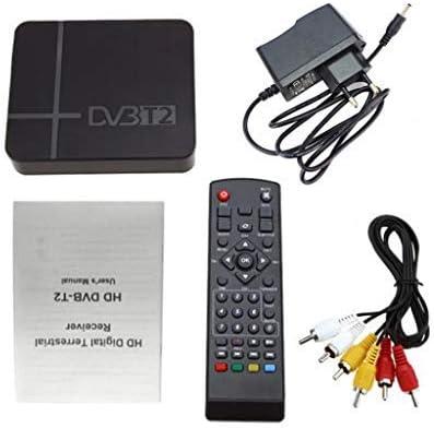 Difcuy 4K Ultra HD TV Box,Portable MSD7T00 DVB-T2 MPEG-2/4 H.264 Support HD 1080P Media Player HDMI TV Set Top Box,US Plug